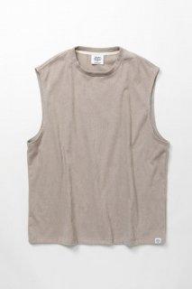 ウェア ノースリーブTシャツ 1ミリパイル