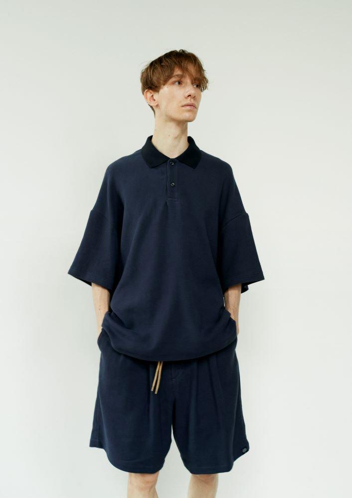 ポロシャツ バスケット柄タオルクロス【画像5】