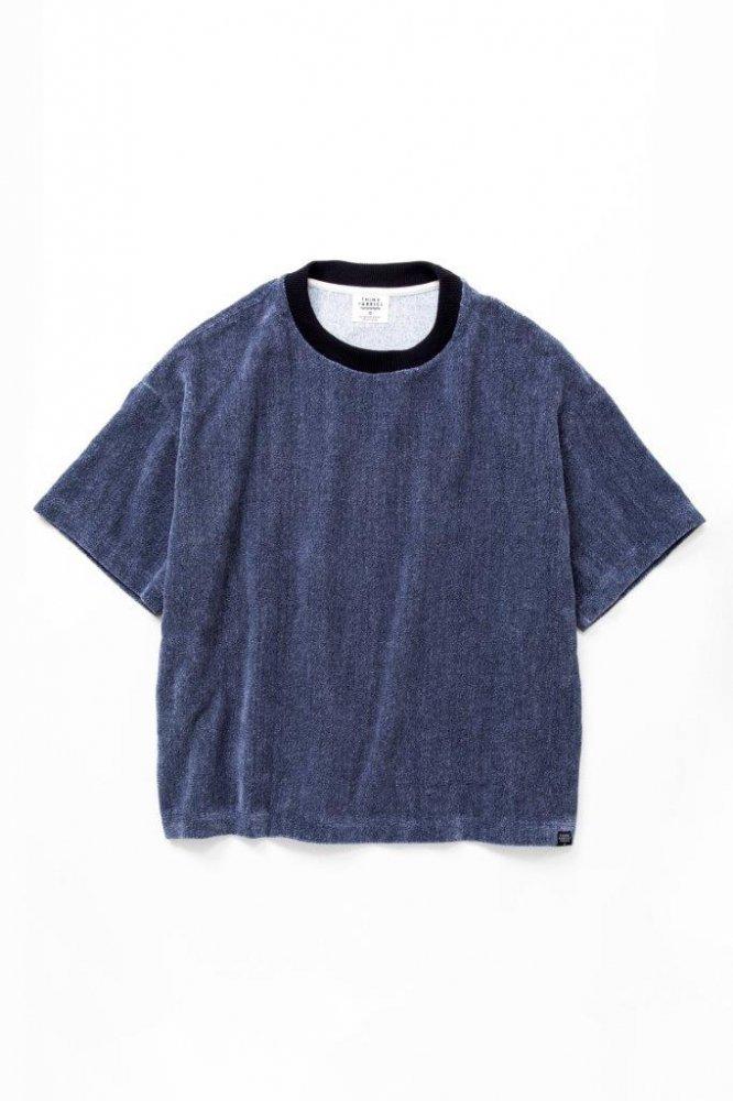 ルーズTシャツ 撚り杢片面シャーリングパイル