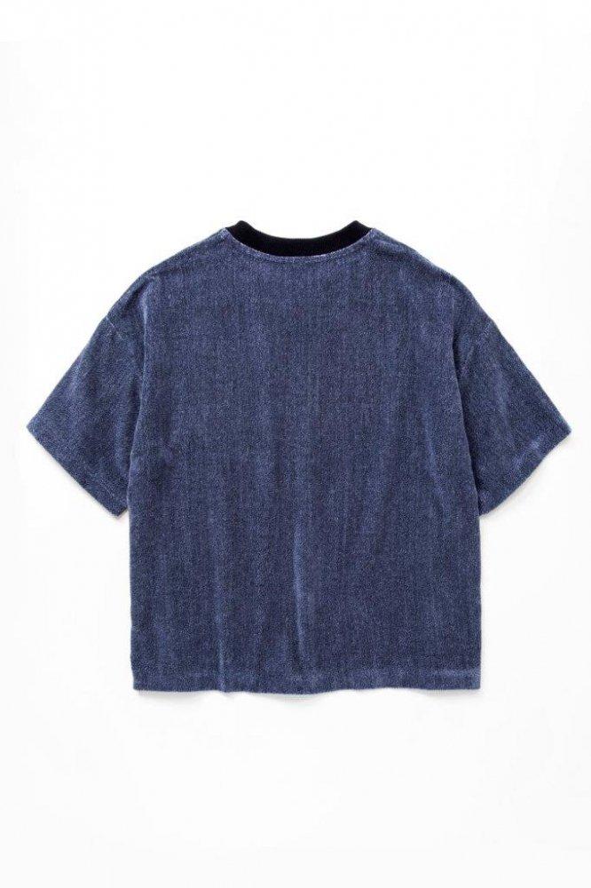 ルーズTシャツ 撚り杢片面シャーリングパイル【画像2】