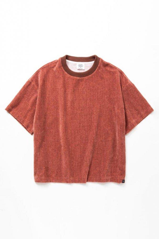 ルーズTシャツ 撚り杢片面シャーリングパイル【画像3】