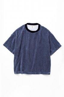 ギフト ルーズTシャツ 撚り杢片面シャーリングパイル
