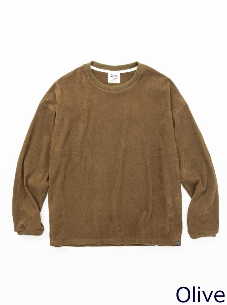 ロングスリーブ Tシャツ 1ミリパイル【画像3】