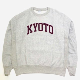 <img class='new_mark_img1' src='https://img.shop-pro.jp/img/new/icons55.gif' style='border:none;display:inline;margin:0px;padding:0px;width:auto;' />KYOTO LOGO SWEAT