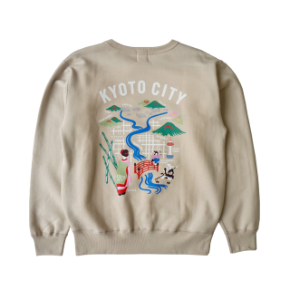 KYOTO刺繍LOGO SWEAT