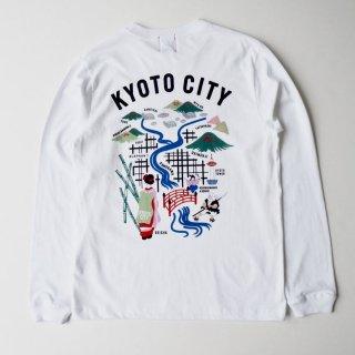 KYOTO刺繍LOGO L/S T-SHIRTS