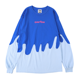 overflow SWITCH L/S T-SHIRT