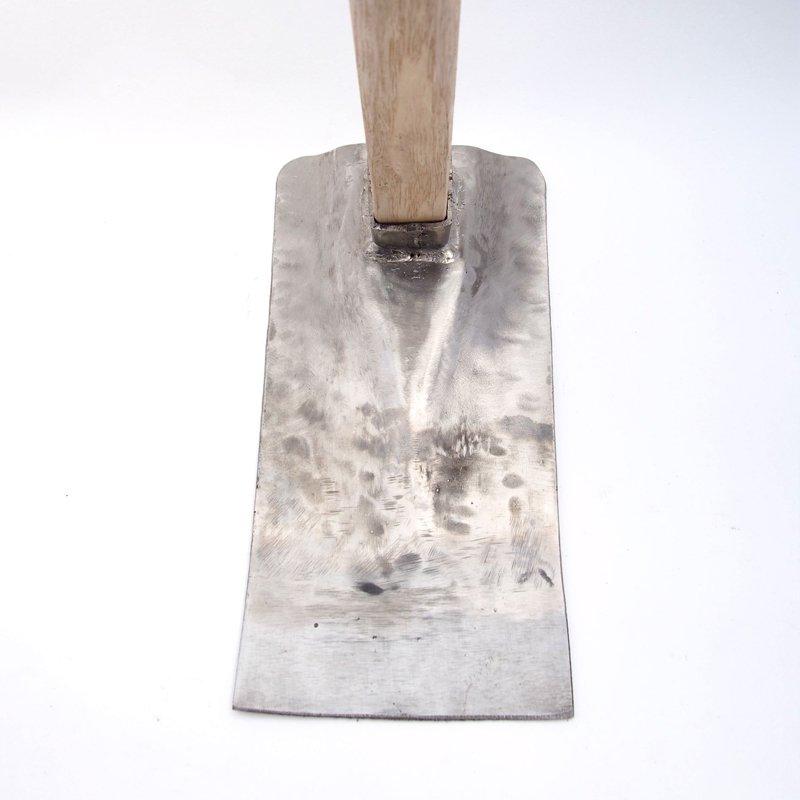 ステンレス鼻緒鍬【角】