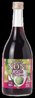 ミラクルノニ100% 瓶入720ml