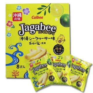 Jagabee(ジャガビー) 沖縄シークワーサー味18g×8袋