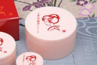 京都舞妓 米ぬか しっとりクリーム/ご家庭用 - スゥーとのびてサラット感覚 100g