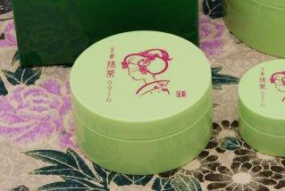 京都舞妓 抹茶 しっとりクリーム/携帯用 - 茶葉のカテキンで肌荒れ防止 30g
