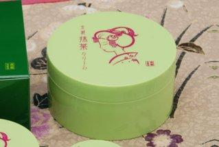 京都舞妓 抹茶 しっとりクリーム/ご家庭用 - 茶葉のカテキンで肌荒れ防止 100g