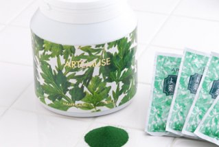 よもぎ入浴剤 マミーサンゴ 薬用バスソルトA - [ボトルタイプ] 1.2kg