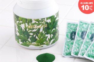 よもぎ入浴剤 マミーサンゴ 薬用バスソルトA - ボトルタイプ/1箱6個入り(まとめ買い割引10%off) 1.2kg×6個入り