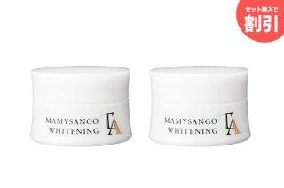 マミーサンゴ 美白化粧品2本セット - クリーム2本 30g×2