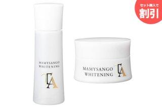 マミーサンゴ 美白化粧品2本セット - ローション 120mL / クリーム 30g