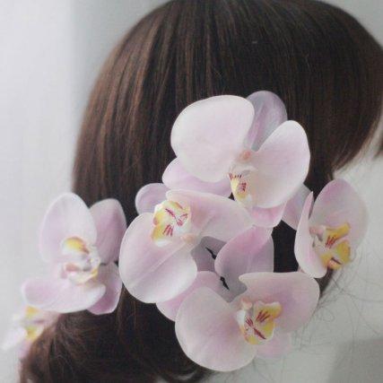 胡蝶蘭のヘッドドレス 6輪セット