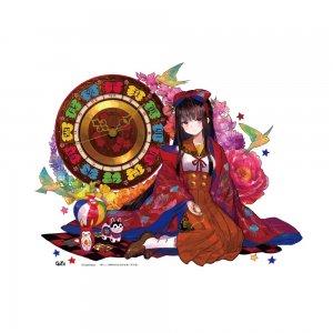 藤ちょこ画集発売記念作品展「彩幻境」 アクリルクロック