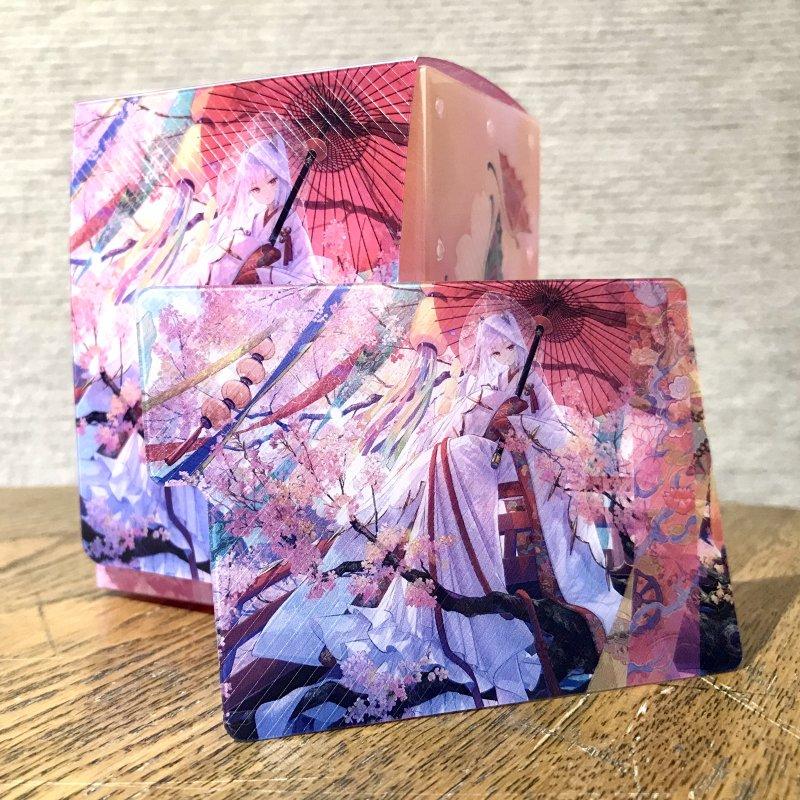 藤ちょこ画集発売記念作品展「彩幻境」 デッキケース