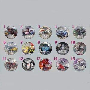 ゾイド源泉 -ZOIDS CONCEPT ART EXHIBITION- 缶バッジくじ