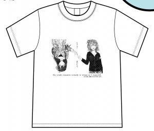 5月31日以降順次発送予定「やはり俺の青春ラブコメはまちがっている。」ぽんかん�展名古屋会場 Tシャツ