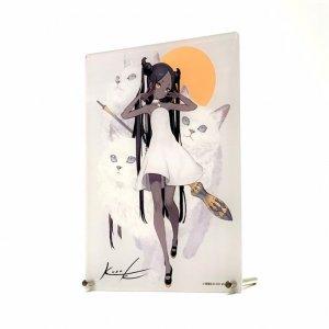 黒星紅白画集発売記念展 -trois- A5アクリルボード