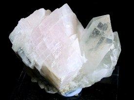 Quartz ,manganese Calsite: 水晶,カルサイト(内モンゴル)