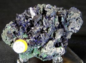 藍銅鉱:アズライト(ツメブ鉱山)