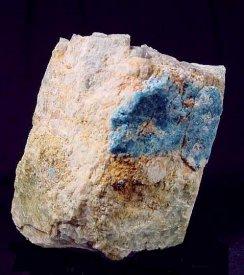 ユークレース(アクアマリンの仮晶) : Euclase (ジムバブエ)
