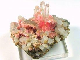 Rhodochrosite: 菱マンガン鉱(ペルー産)