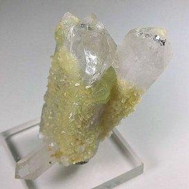 水晶/プレナイト(ぶどう石)