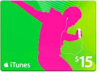 アメリカ版 iTunes Music Card $15