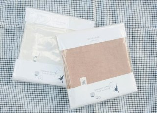 Organic Cotton 3重ガーゼタオル大サイズ 2枚パッケージセット