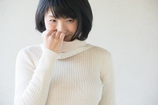 ヤク混エアニット 薄手ネックウォーマー【Organic Cotton】