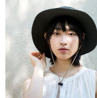 Organic Cotton サファリハット Mサイズ【ボタニカルダイ/ログウッド】