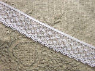 LL02029 綿リバーレース 2.5cm巾