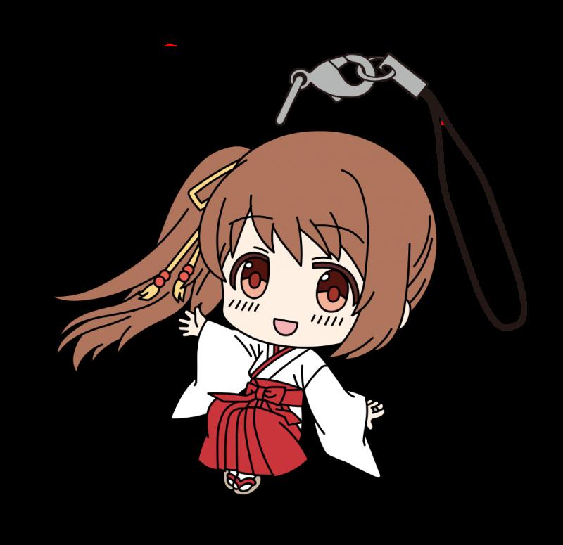 マギアレコード魔法少女まどか☆マギカ外伝 ラバーストラップ(巫女) 鶴乃画像
