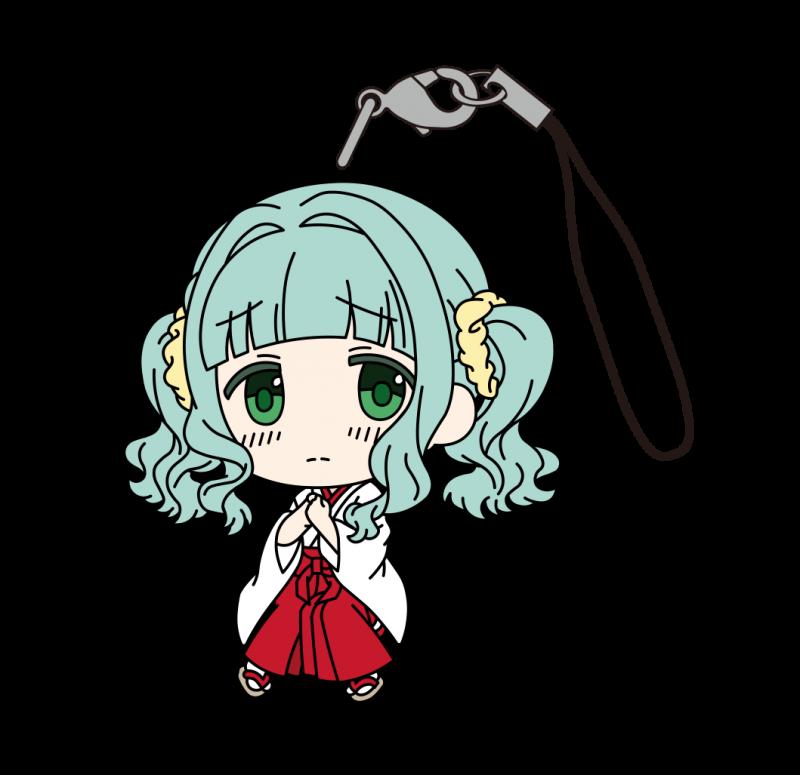 マギアレコード魔法少女まどか☆マギカ外伝 ラバーストラップ(巫女) さな画像