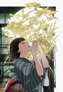 サケコレ タペストリー(片桐いくみ)イメージ