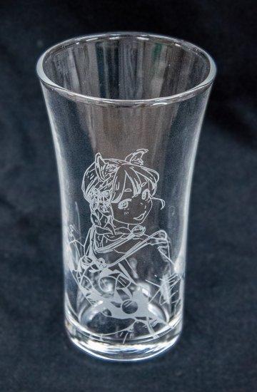 【受注生産】サケコレ 日本酒グラス(よむ先生) 船戸ゆり絵さんイメージ画像