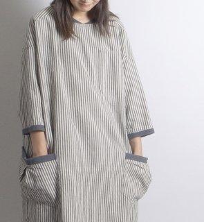 l/c atelier long pullover (リネンコットン アトリエロングプルオーバー)