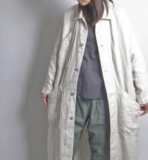 linen hb engineer coat (リネンヘリンボーン エンジニアコート)