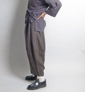 linen st balloon pants (リネンストライプ バルーンパンツ)