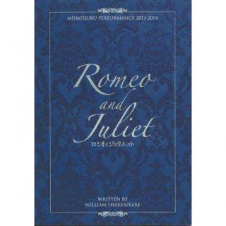 「ロミオ&ジュリエット」パンフレット(2013年)