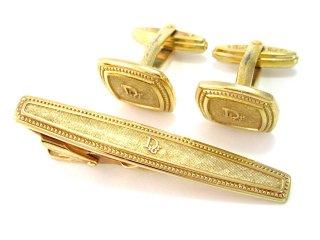 ディオール Christian Dior/ネクタイピン&カフス【中古】【S0555】
