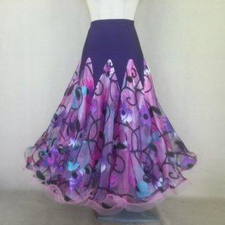 社交ダンス・モダンドレス、ラテンドレス、スカート、 チョーカー、 ネックレス、 ヘアアクセサリー XII-00252