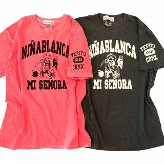 ニーニャ ブランカ カレッジ Tシャツ