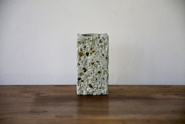 【大谷石】 oya stone 箸立て