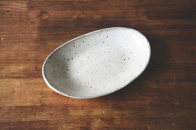【川尻製陶所】 楕円皿